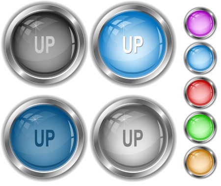Up. internet buttons. Stock Vector - 7302158