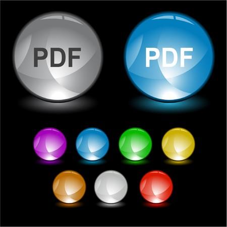extention: Pdf. interface element.