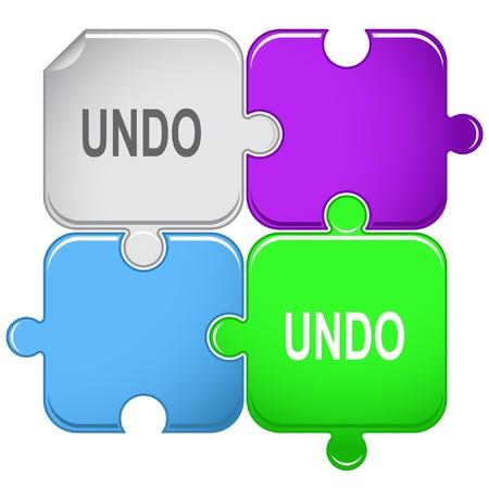disabling: Undo. puzzle.