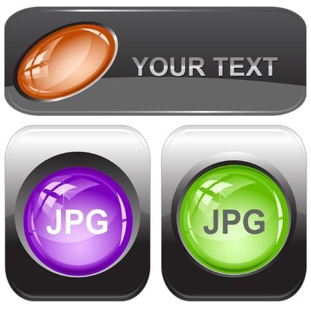 descriptor: Jpg. internet buttons.