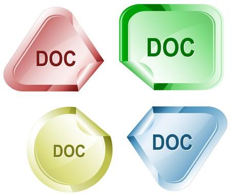descriptor: Doc. sticker.