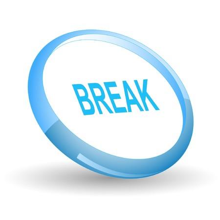 Break. icon.