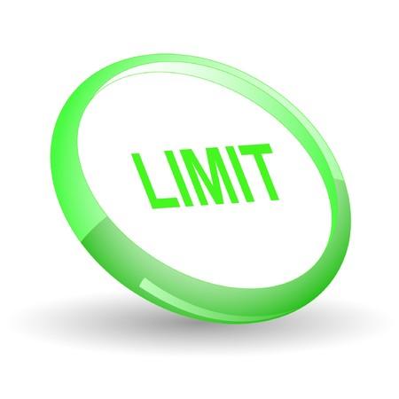 quota: Limit. icon.