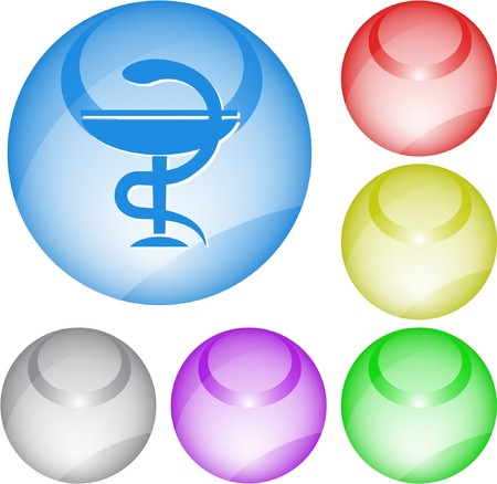 pharma: Pharma symbol. interface element. Illustration