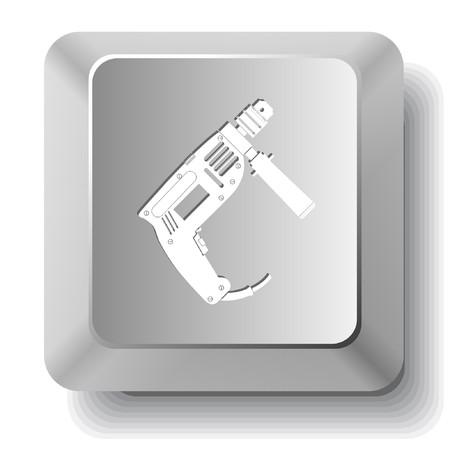 taladro electrico: Taladro el�ctrico. clave de equipo.