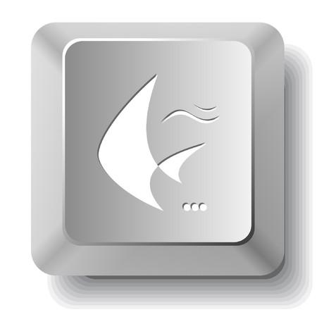 spawn: Fish. computer key.