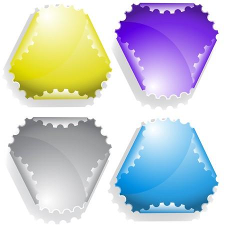 sticker Stock Vector - 7547135
