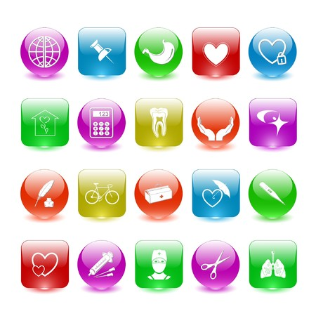 Vector set of interface elements Stock Photo - 7698794