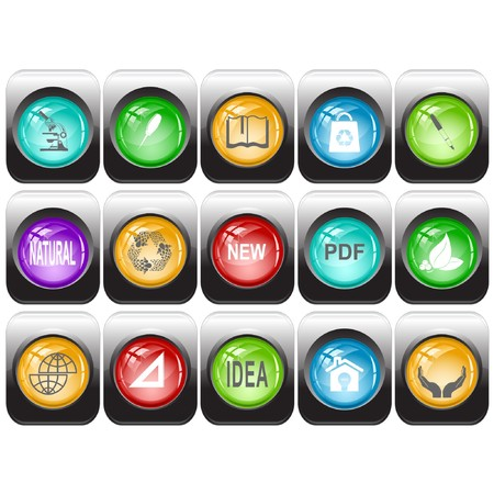 set of internet buttons Stock Photo - 8106122