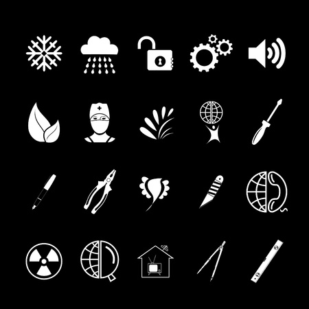 Vector set of icons Stock Photo - 8456682