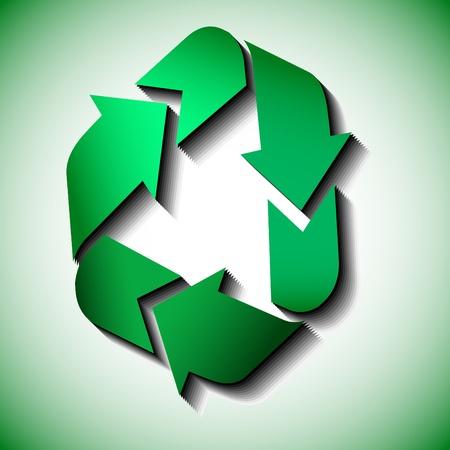 Icono de Papelera de reciclaje de vector Foto de archivo - 8602839