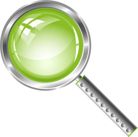 magnifier Stock Photo - 8616568
