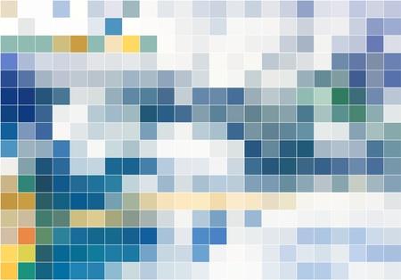 ドットの抽象的なベクトルの背景
