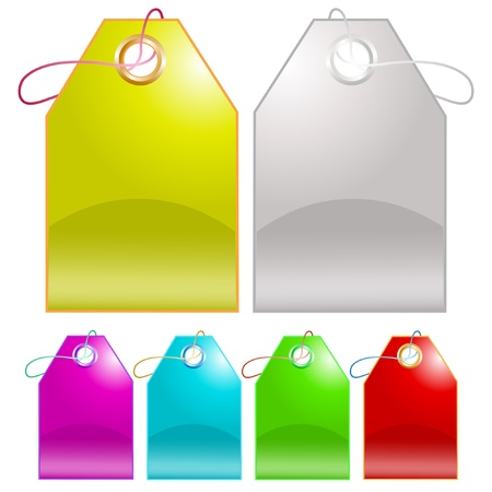 Vector tags Stock Photo - 8919932