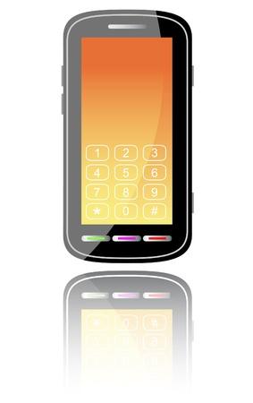 Smartphone. Vector illustration. illustration