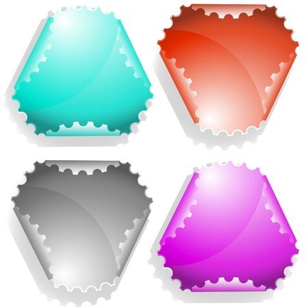 declinate: Vector sticker