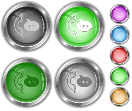 Support. internet buttons. Stock Photo - 9603509
