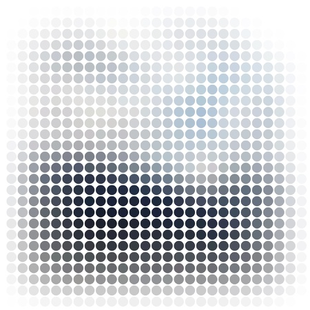 pixel art: Dots abstract vector background