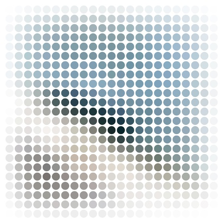 Dots abstract vector background Stock Photo - 10385967
