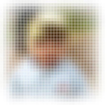 Abstract vector mosaic Stock Photo - 10385962