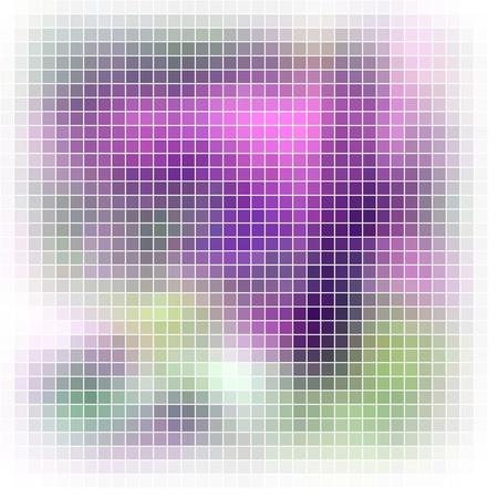 vivid colors: Abstract vector mosaic