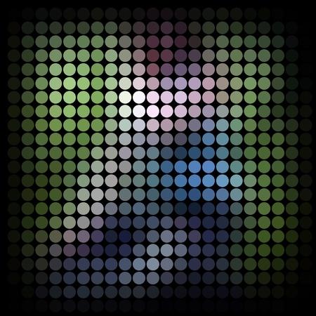 Mosaic background. Abstract illustration. illustration