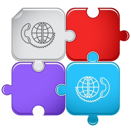 Global communication. Stock Photo - 10502607