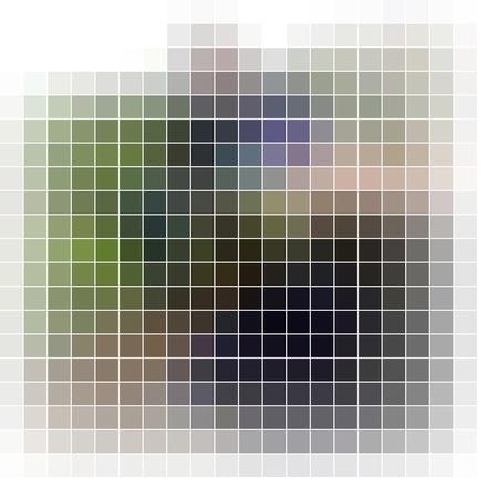 Mosaic background. Abstract vector illustration. illustration