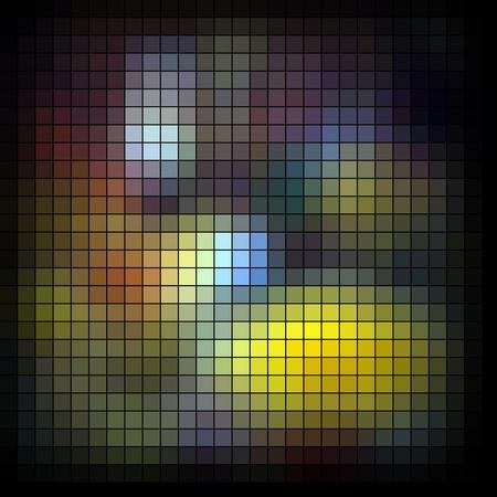 Abstract vector mosaic Stock Photo - 10569707