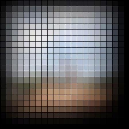 ドットの抽象的な背景 写真素材