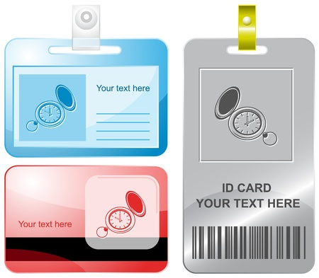 outmoded: Watch. Id cards.