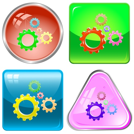 icon of gears photo
