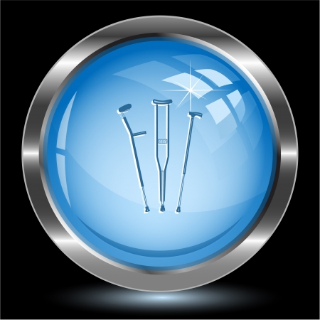 physio: Crutches Internet button