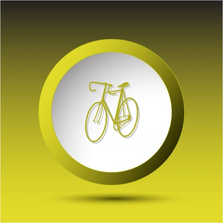 incurved: Bicycle Plastic button