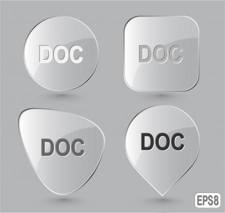 descriptor: Doc. Glass buttons