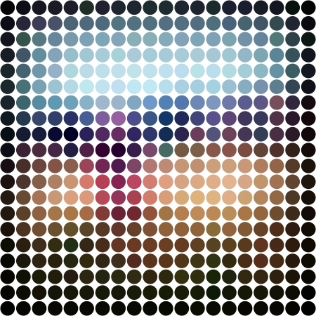 Dots abstract background Stock Photo - 15673691