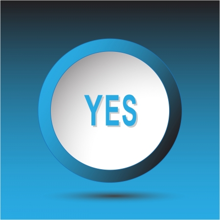 Yes. Plastic button Stock Photo - 15673472