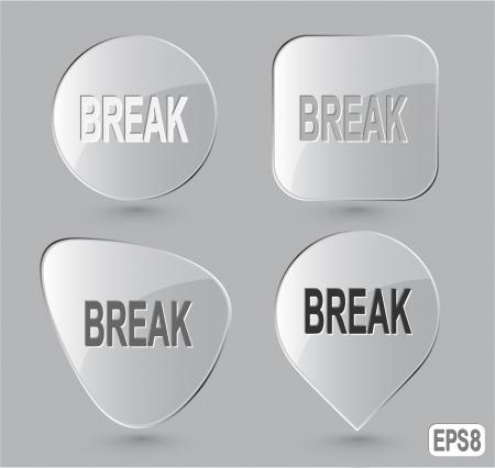 undoing: Break. Glass buttons