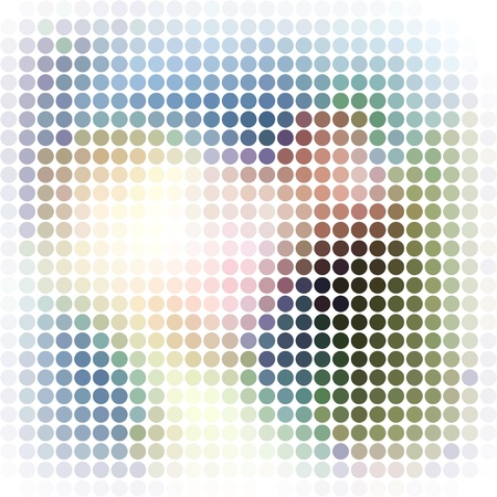 Dots abstract background Stock Photo - 15809037