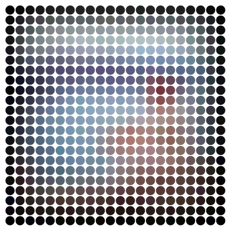 Dots abstract background photo