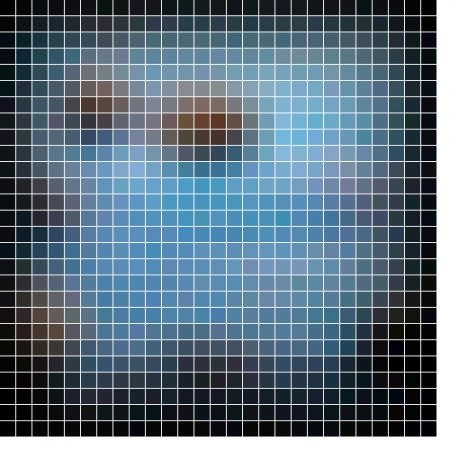 Abstract vector mosaic Stock Photo - 17194418