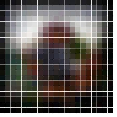 Mosaic background. Abstract vector illustration. Stock Illustration - 17216478