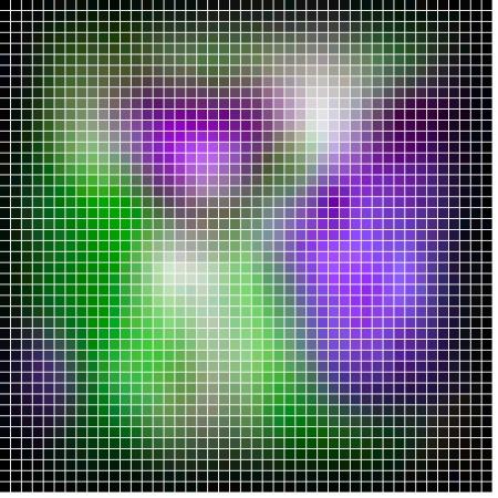 spatial: Abstract vector mosaic