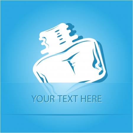 inkstand: Inkstand  Paper sticker as bookmark