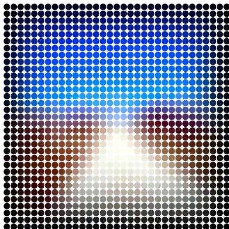 Abstract vector mosaic Stock Photo - 17345216