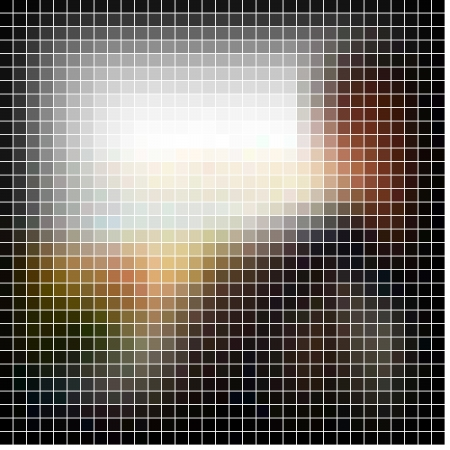 Mosaic background. Abstract vector illustration. Stock Illustration - 17443385