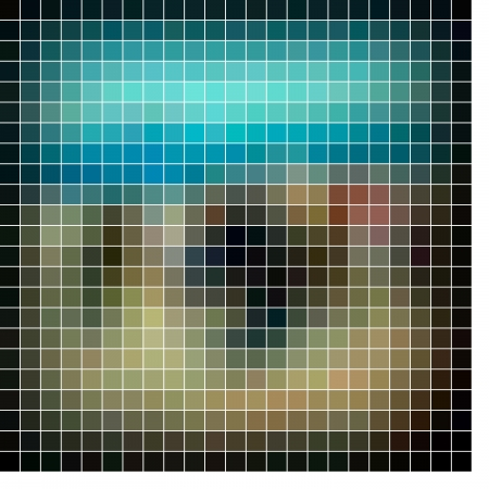 Mosaic background. Abstract  illustration. Stock Illustration - 17511816
