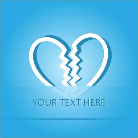 unrequited love: Amor no correspondido. Papel adhesivo como favorito. ilustraci�n
