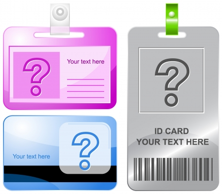 interrogative: Query. id cards.