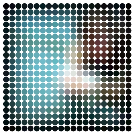 Dots abstract vector background Stock Photo - 19113604